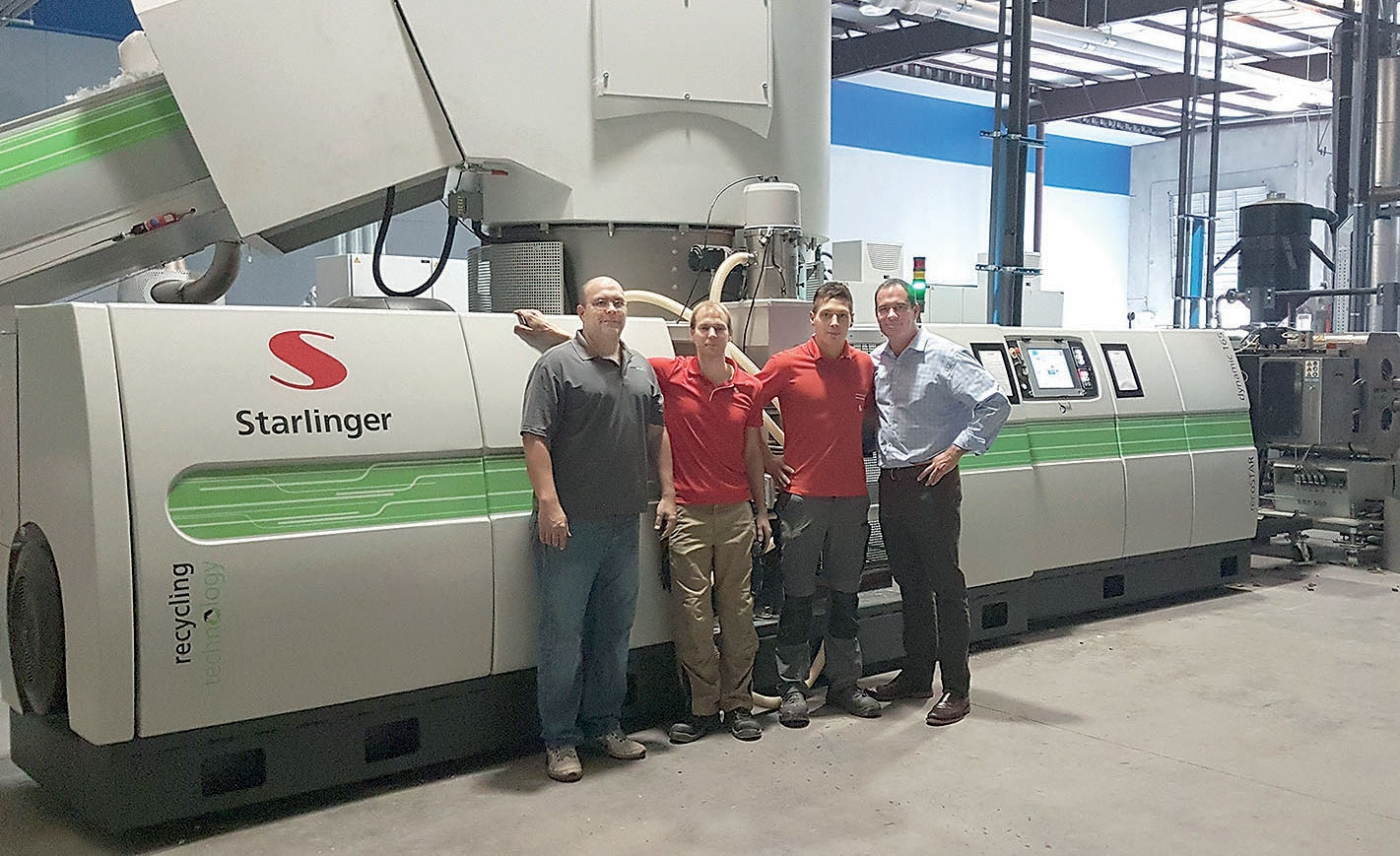 One Of Two Starlinger Systems Delivered To Houston